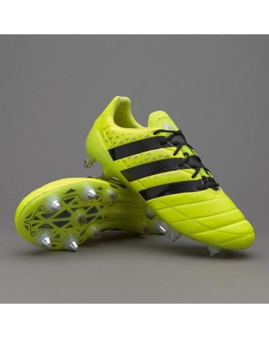 Adidas ACE 16.1SG - Solar Green/Shock Pink/Core Black aq4451