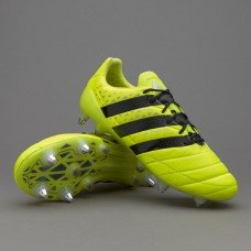 Adidas ACE 16.1SG - Solar Green/Shock Pink/Core Black aq4451