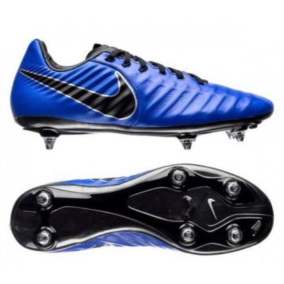 Бутси  Nike Tiempo Legend 7 Pro SG сине-черные AQ0429-400