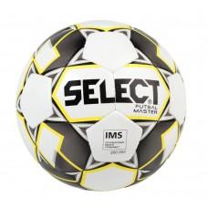 Футзальный мяч Select Futsal Master White Yellow 2019 2020 IMS