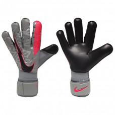 Воротарські рукавиці  Nike GK Grip3 Goalkeeper Gloves Size 8 Particle Grey Crimson Black CW2940- 073