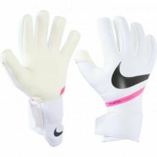 Воротарські рукавиці  Nike GK Phantom Shadow Goalkeeper Gloves White Black Pink Size 8 Cn6758-101