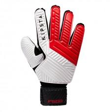 Воротарські рукавиці  Kipsta GK F500 Red Black