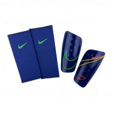 Футбольні щитки + сіточки Nike Mercurial Lite темно-синие SP2120-431