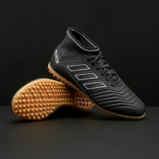 Сороконожки Adidas Predator 18.3 Kids TF- Core Black/ White DB2329