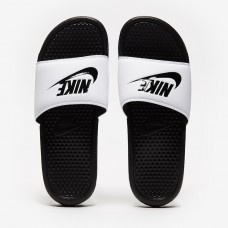 Тапочки Nike Benassi JDI - White 343880-100