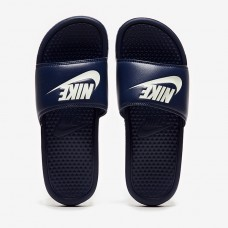 Тапочки Nike Sportswear Just Do It Benassi Slides - Midnight Navy - 343880-403
