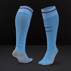 Гетры Nike Manchester City 17/18 Home Stadium Sock  Field Blue/White sx6031-488
