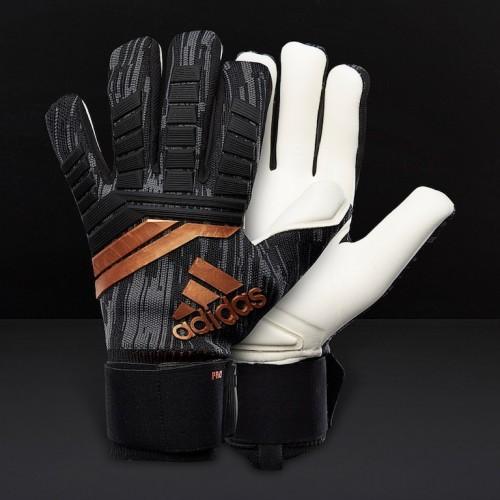 6ad99ee39ef Воротарські рукавиці Adidas Predator 18 Pro Gloves Black   Solar Red   Copper  Gold CF1351