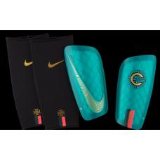 Футбольные щитки + сеточки Nike CR7 Mercurial Lite SP2159-321 Original