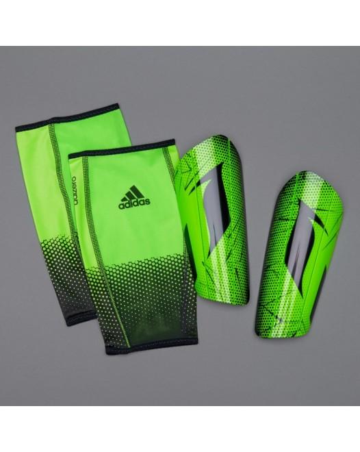Футбольні щитки + сіточки Adidas Messi 10 Pro - Solar Lime/Black AP7068 Original