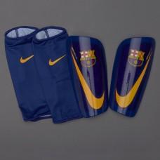Футбольные щитки + сеточки Nike Barca Mercurial Lite SP2112-422 Original