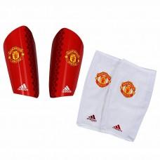 Футбольные щитки + сеточки Adidas Manchester United PRO Lite Shin Guard  Football Soccer AP7066