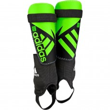 Adidas Ghost Club Shin Guards Black/Solar Green