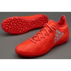 Сороконожки Adidas 2016 X 16.3 TF Red S79576
