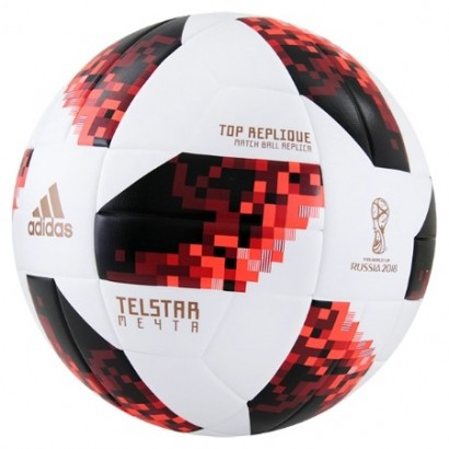 Adidas TELSTAR 18 KO WORLD CUP TOP REPL BALL CW4683