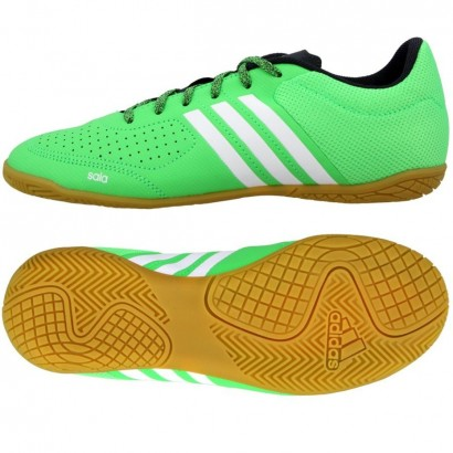 Adidas Kids Ace 15.3 CT Junior Indoor Football Green Shoes B27229