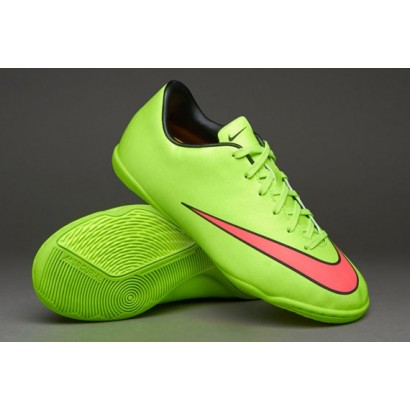 Nike Mercurial Kids Victory V Indoor - Green/Hyper Punch 651639-360