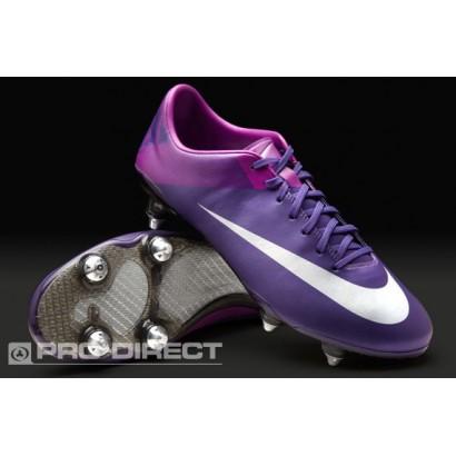 Nike Mercurial Vapor VII SG Boots - Purple/Silver