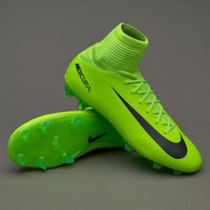 Бутсы Nike Mercurial Superfly Kids V FG (831943-303) PRO (с носком)