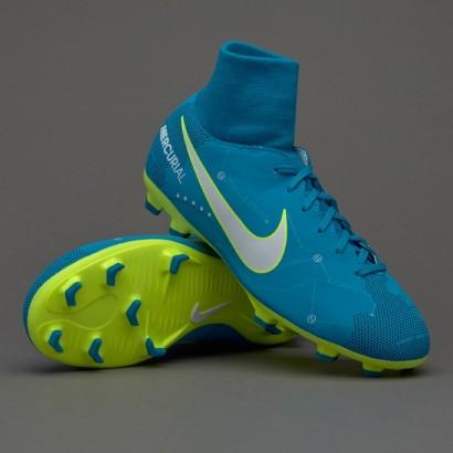 Бутсы Nike Mercurial Victory 6 DF Neymar FG - 921486-400  (с носком)