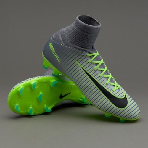 Бутсы Nike Mercurial Superfly V FG Junior Wolf Grey 831943-003 (с носком) 08df729f24048