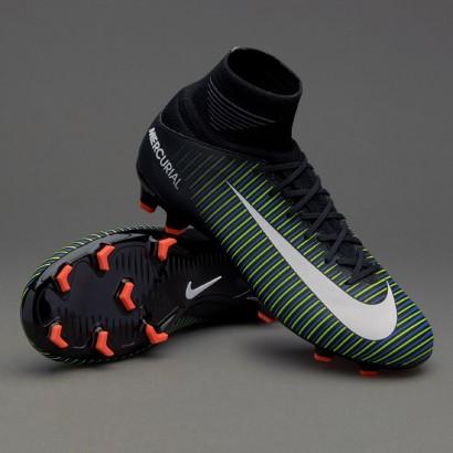 Бутсы детские Nike Kids Mercurial Superfly V FG 831943-013  PRO (с носком)