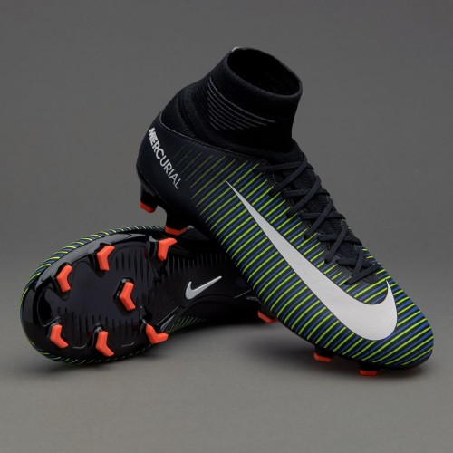 Бутси дитячі Nike Kids Mercurial Superfly V FG 831943-013 PRO (з носком) e02e3aee23aa7