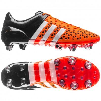 Adidas Ace 15.1 Soft Ground Mens Football Boots - Orange