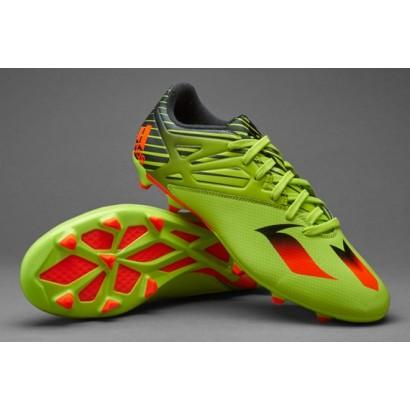 Бутсы Adidas MESSI 15.3 Kids FG - Semi Solar Slime/Solar Red