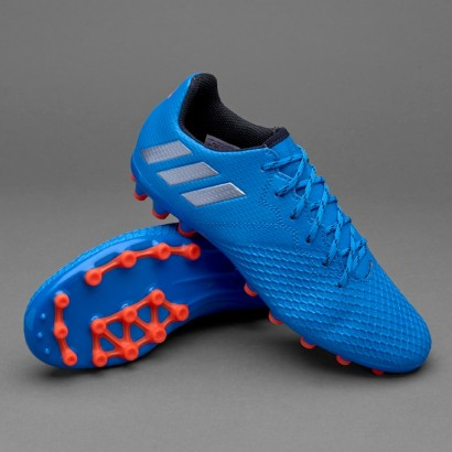 Бутсы Adidas Kids Messi 16.3 AG - Shock Blue/Matte Silver/Core (S80586)