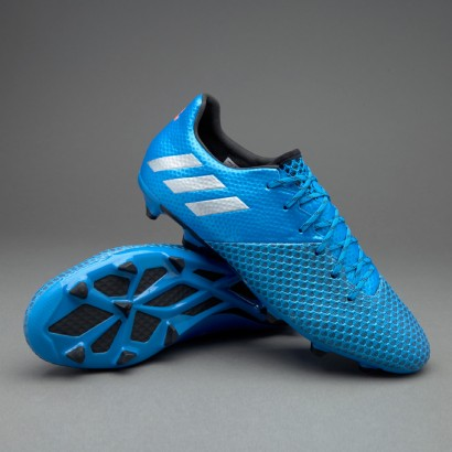 Adidas Messi 16.2 FG/AG - Shock Blue/Matte Silver/Core Black (AQ3111)