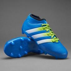 Adidas ACE 16.3 Primemesh Kids FG/AG - Shock Blue AQ2567