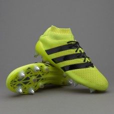 Adidas ACE 16.1 Primeknit SG - Solar Yellow/Core Black/Silver Metallic AQ6367 (Profi)