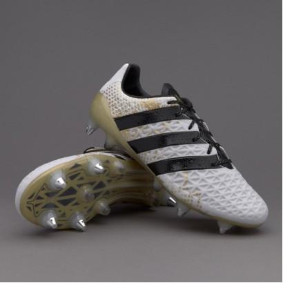 Adidas ACE 16.1 SG AQ6368 White/Black/Gold  (PRO)