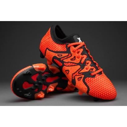 Adidas X15+ Primeknit FG/AG - Solar Orange/Core Black/Bold Orange S77878 (Profi)