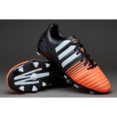 Adidas Nitrocharge 3.0 FG Kids - Core Black/White/Flash Orange B40576
