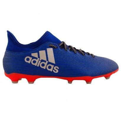 Adidas X 16.3 Men's Firm Ground Football Boots Blue