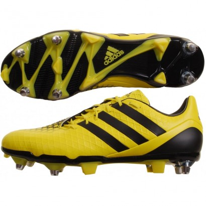 Adidas Predator Incurza SG Rugby Boot Electric Yellow and Black B23069