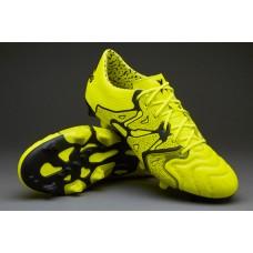 Adidas X 15.1 FG/AG Leather - Soccer Cleats FG (Profi)