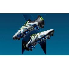 Adidas X 15+ SL FG - White/Core Black/Shock Blue AF4693 (Profi)