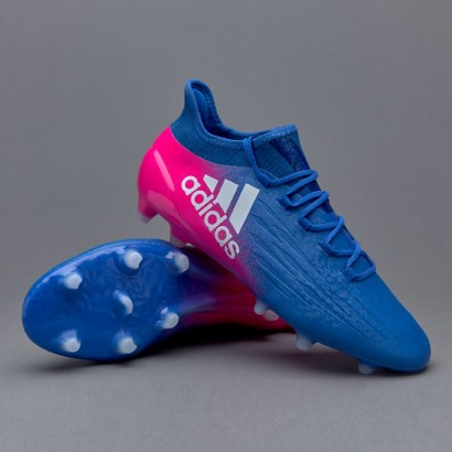 Adidas X 16.1 FG Blue/White/Shock Pink (BB5619)