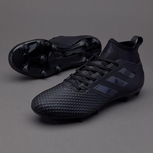 Бутсы Adidas ACE 17.3 Primemesh Core Black FG BY2197 (с носком)