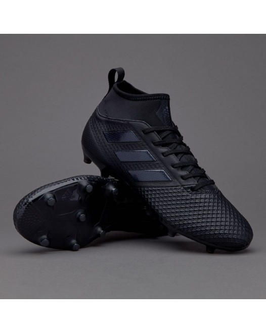 Бутсы Adidas ACE 17.3 Primemesh Core Black FG BY2197 (с носком)