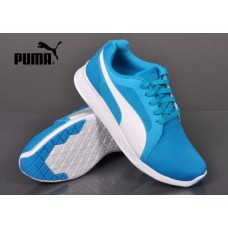 Puma ST Trainer Evo JR 36087302 light blue halfshoes
