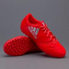 Сороконожки Adidas  X 16.3 TF Leather Red (S79588)