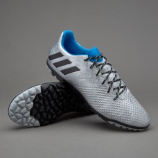 Adidas Messi 16.3 TF - Silver Metallic/Core Black/Shock Blue