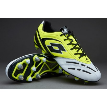 Lotto Stadio Potenza VI 200 SGX - Yellow Safety/White R8150