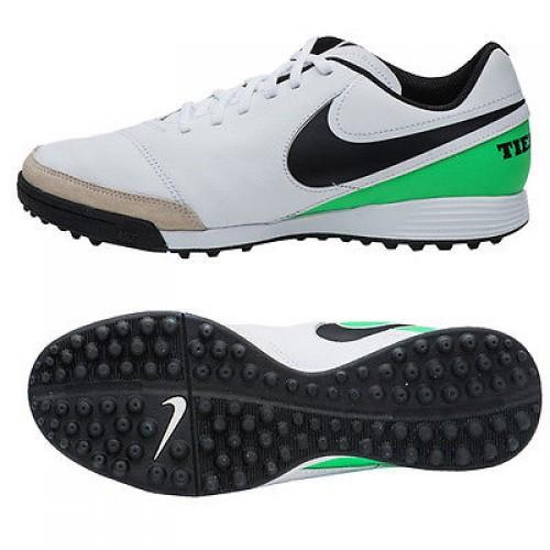 buy popular 2b746 657ce Сороконожки Nike TiempoX Genio II Leather TF 819216-103